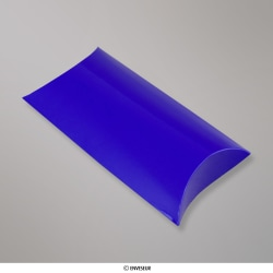 Blauwe pillowbox