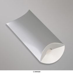 Zilverkleurige pillowbox