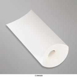 Cajas almohadas de colores, Blanco, Sin engomado