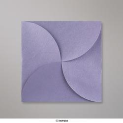 145x145 mm Speciaal gevouwen envelop, lila