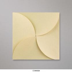 145x145 mm Platinová skladaná obálka (Pouchette)