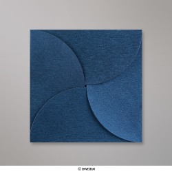 145x145 mm Pochette - Azul Real
