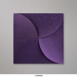 145x145 mm Speciaal gevouwen envelop, violet