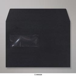 162x229 mm (C5) Zwarte Post Marque-envelop