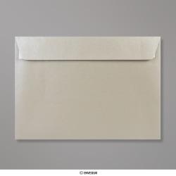162x229 mm (C5) Zilverkleurige parelmoer-envelop
