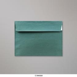 114x162 mm (C6) Zelená vianočná perleťová obálka