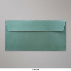 110x220 mm (DL) Vianočná-zelená perleťová obálka