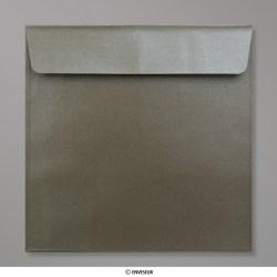 170x170 mm envelope taupe médio pérola