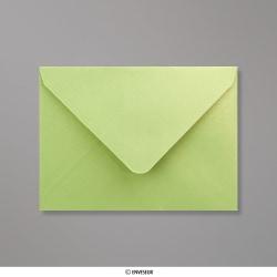 Sobre Con Lustre De Perla Verde Lima de 82x113 mm (C7), Verde lima, Engomado