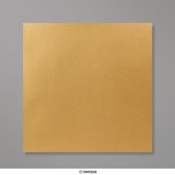 Sobre Con Lustre De Perla Oro de 155x155 mm, Oro, Autoadhesivo