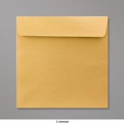 170x170 mm envelope pérola dorado