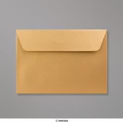 114x162 mm (C6) envelope pérola dorado