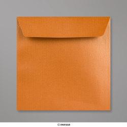 Sobre Con Lustre De Perla Cobre de 155x155 mm, Cobre, Autoadhesivo