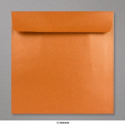 170x170 mm envelope pérola - cobre
