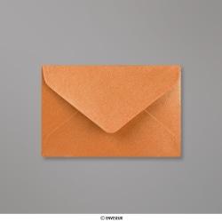 62x94 mm Enveloppe Perlée Cuivre, Cuivre, Gommée