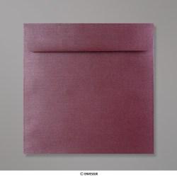 170x170 mm envelope pérola beringela
