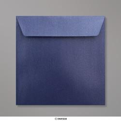 155x155 mm Polnočná Modrá Perleťová Obálka