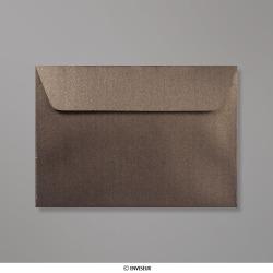114x162 mm (C6) Bronskleurige parelmoer-envelop