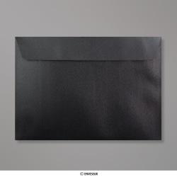 162x229 mm (C5) Leigrijze parelmoer-envelop