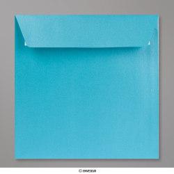 155x155 mm envelope pérola azul bébé