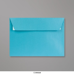 114x162 mm (C6) envelope pérola azul bébé