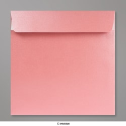 170x170 mm envelope pérola rosa bébé