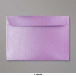 Sobre Con Lustre De Perla Lavanda de 162x229 mm (C5), Lavanda Perlado, Autoadhesivo