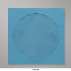 Sobre Azul Para CD de 126x126 mm, Azul, Autoadhesivo