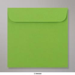 126x126 mm Enveloppe verte pour CD, Vert, Auto-adhésive avec Bande Détachable