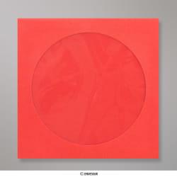 126x126 mm Envelope Para CD - Vermelho