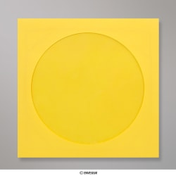 85x85 mm Dark Yellow CD Envelope