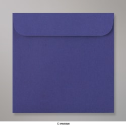 85x85 mm Busta per Mini CD blu marina - senza finestra , Blu Marino, Con strip adesivo