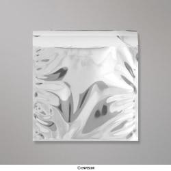 220x220 mm bolsa de papel de prata - prateado