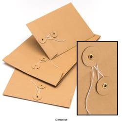 Obálky s uzatváraním na šnúrku