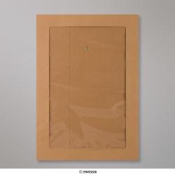 324x229 mm (C4) String & Washer Manilla Envelope Full Window