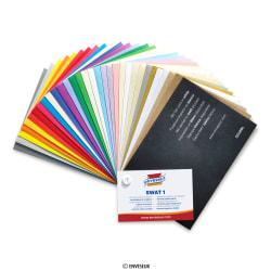 Buste in carta colorata - campione, Vari,
