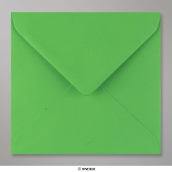 155x155 mm envelope verde feto