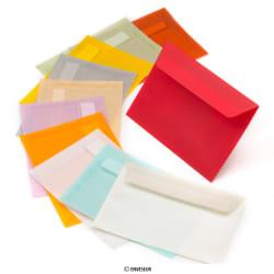 Transparentné farebné obálky