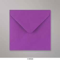 130x130 mm Enveloppe Violette, Violet, Gommée