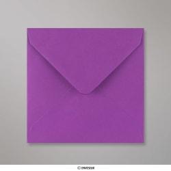 130x130 mm envelope lilás