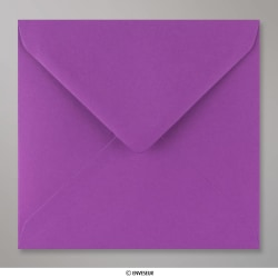 155x155 mm envelope lilás