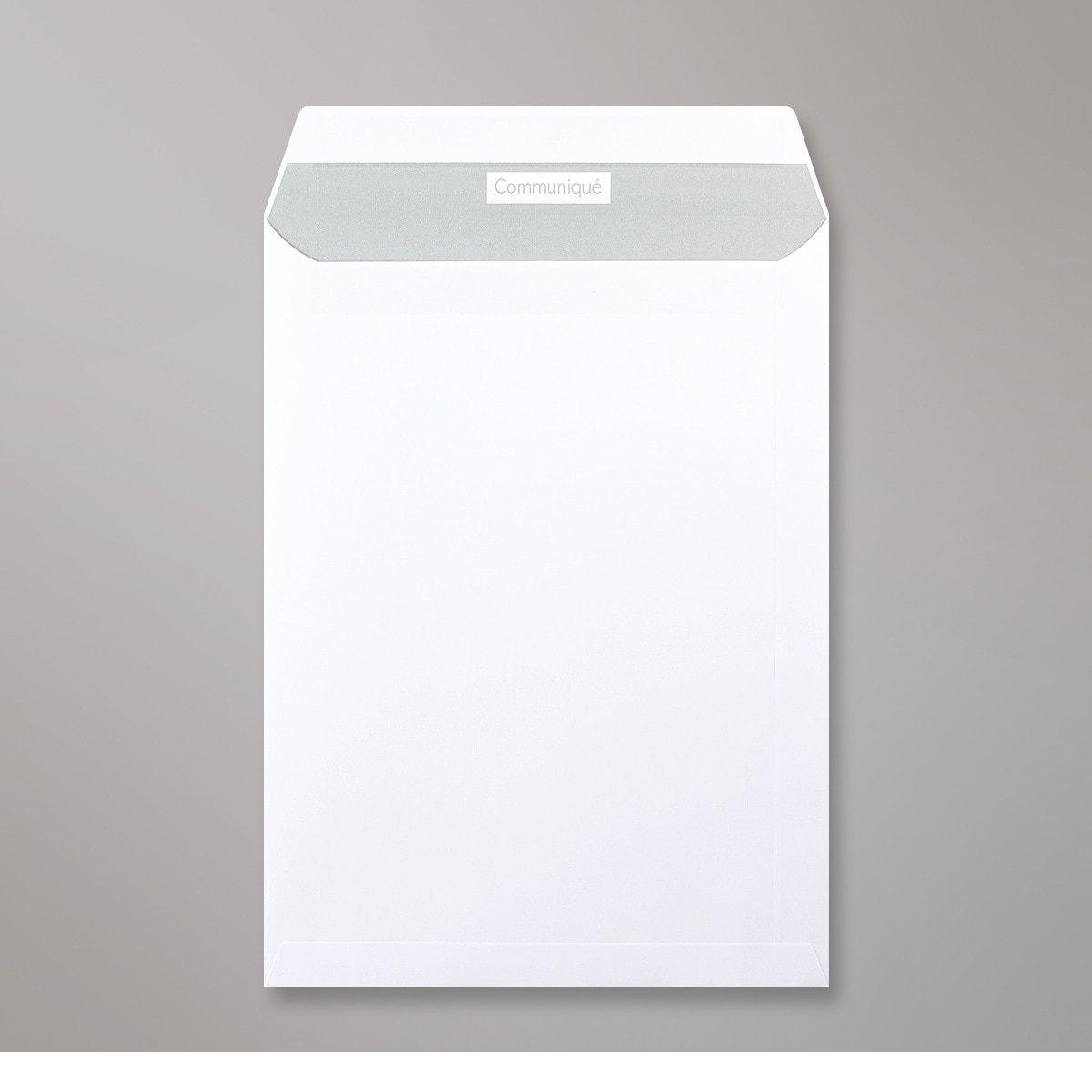 Enveloppe blanche Communique 324x229 mm (C4)