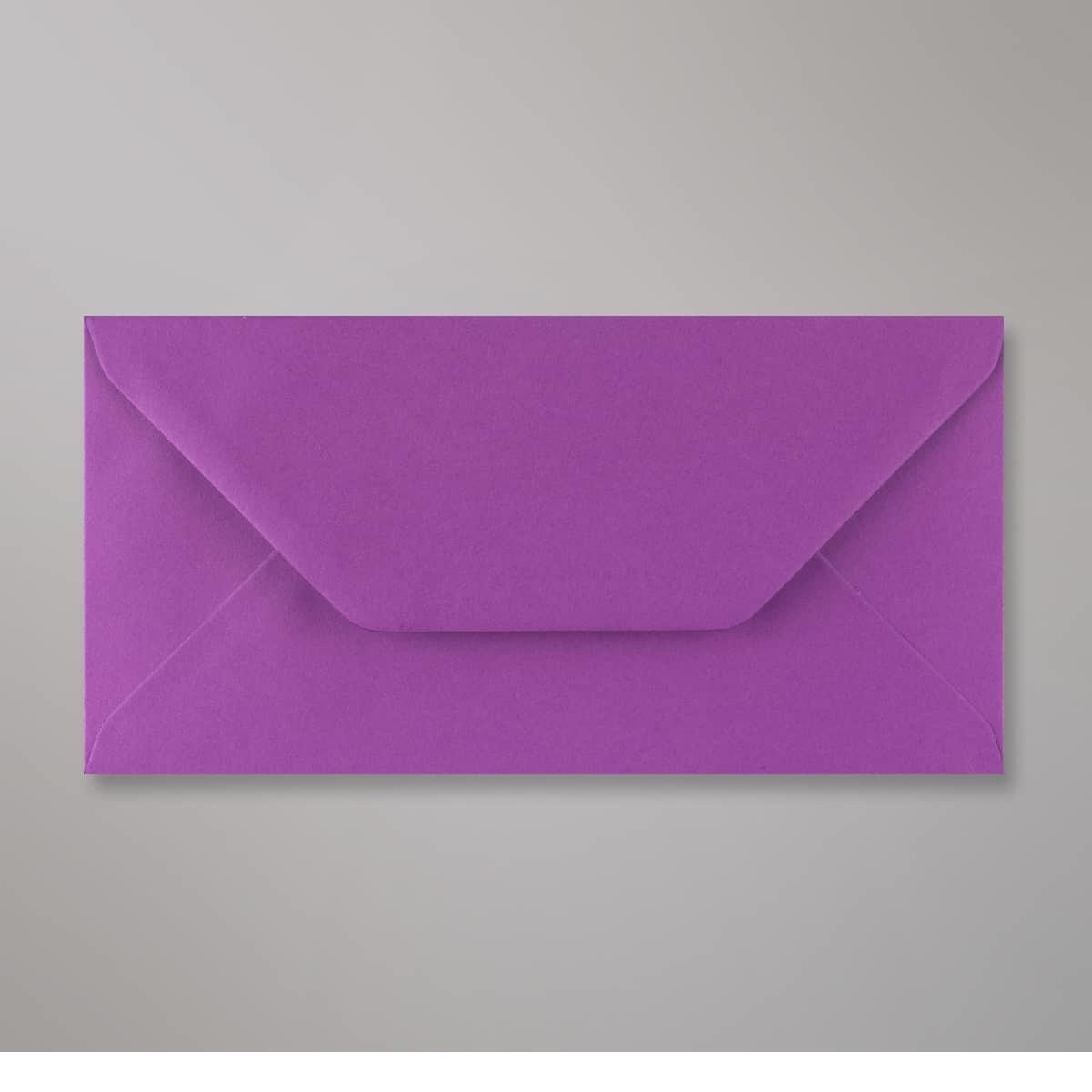 Enveloppe violette 110x220 mm (DL)