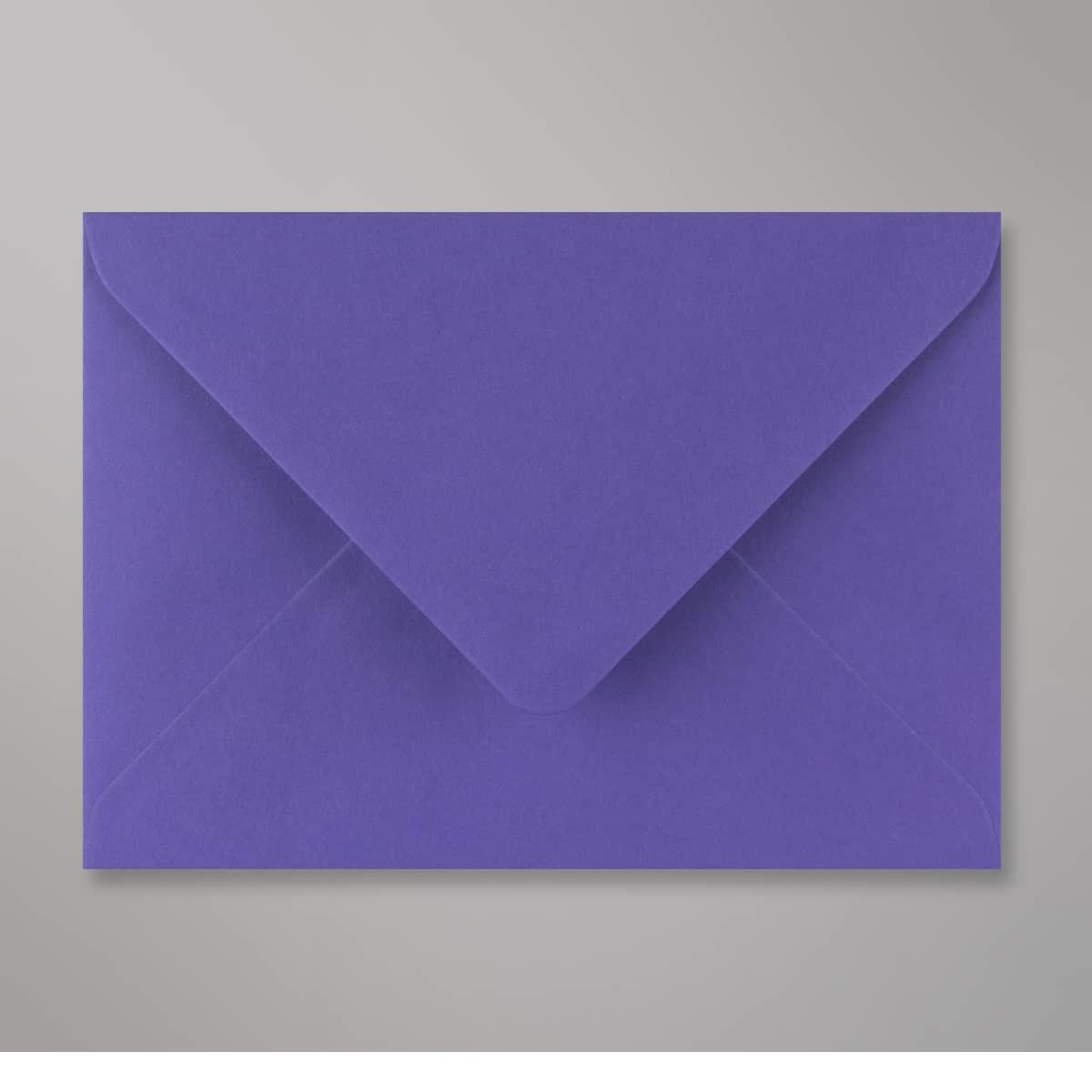 Enveloppe bleue iris 125x175 mm