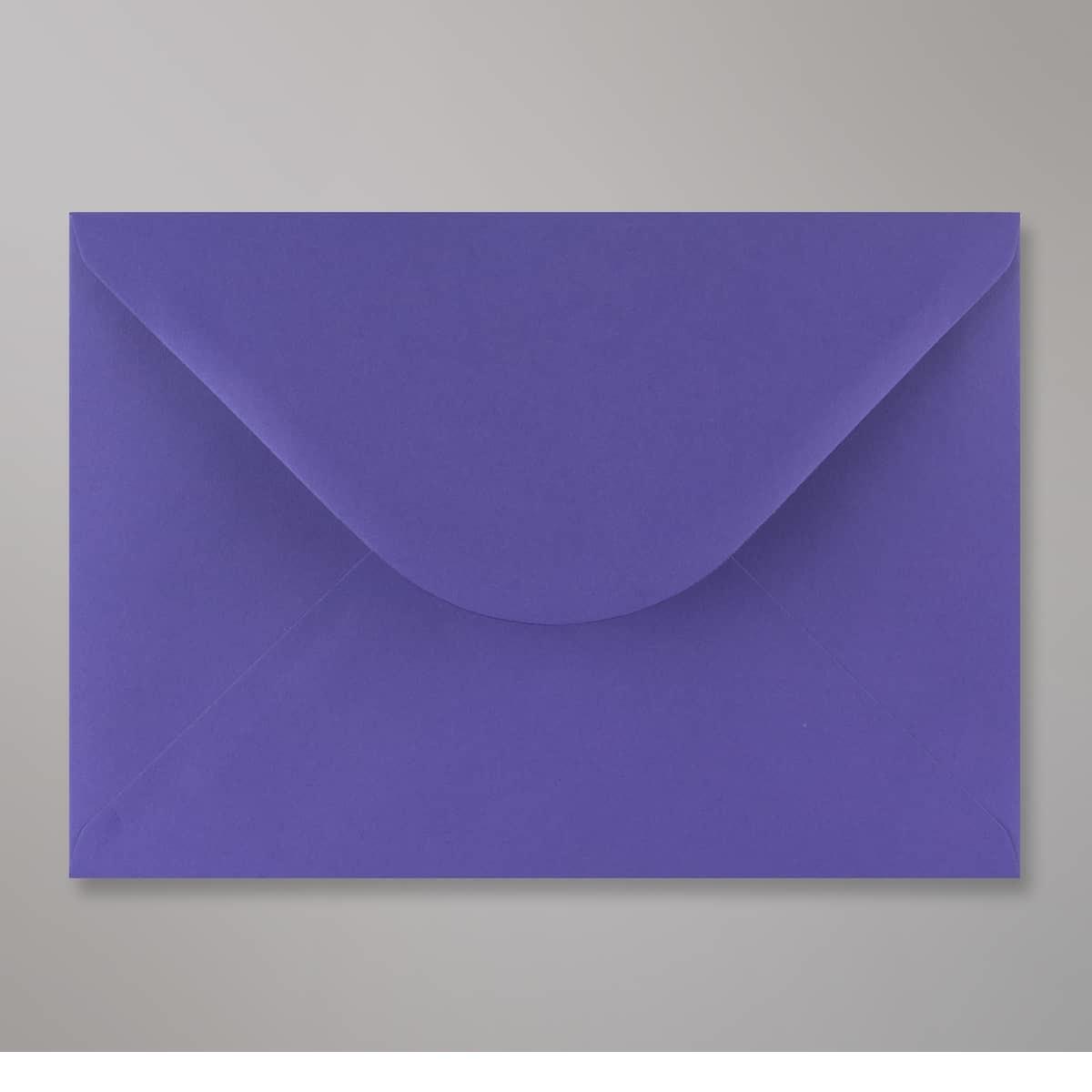 Enveloppe bleue iris 162x229 mm (C5)