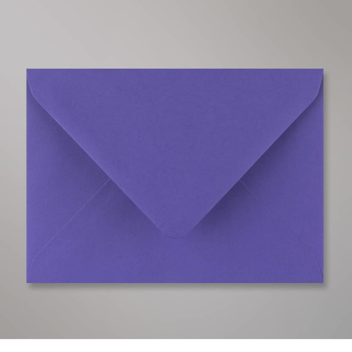Enveloppe bleue iris 114x162 mm (C6)