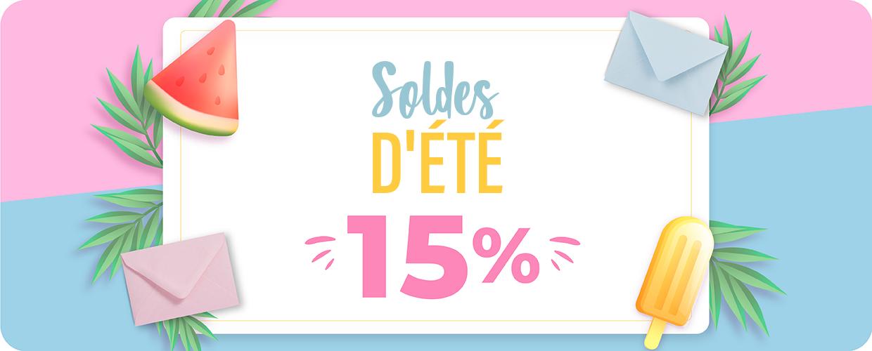 10% de réduction sur les commandes supérieures à 50€. Code: SUN10