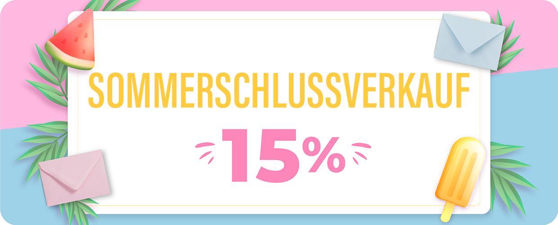 10% Rabatt auf Bestellungen über 50€. Code: SUN10
