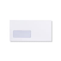 DL WHITE WINDOW ENVELOPES 110GSM
