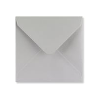 LIGHT GREY 130mm SQUARE ENVELOPES 120GSM